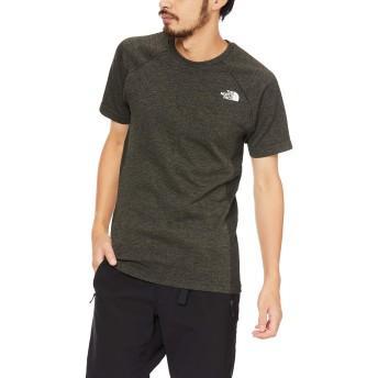 [ザ・ノース・フェイス] Tシャツ ショートスリーブアンビションクルー メンズ ミックスカーキ 日本 L (日本サイズL相当)