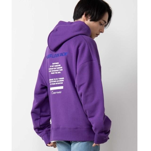 [マルイ]【セール】ヘビー裏毛ロゴ刺繍ビッグパーカ/ウィゴー(メンズ)(WEGO)