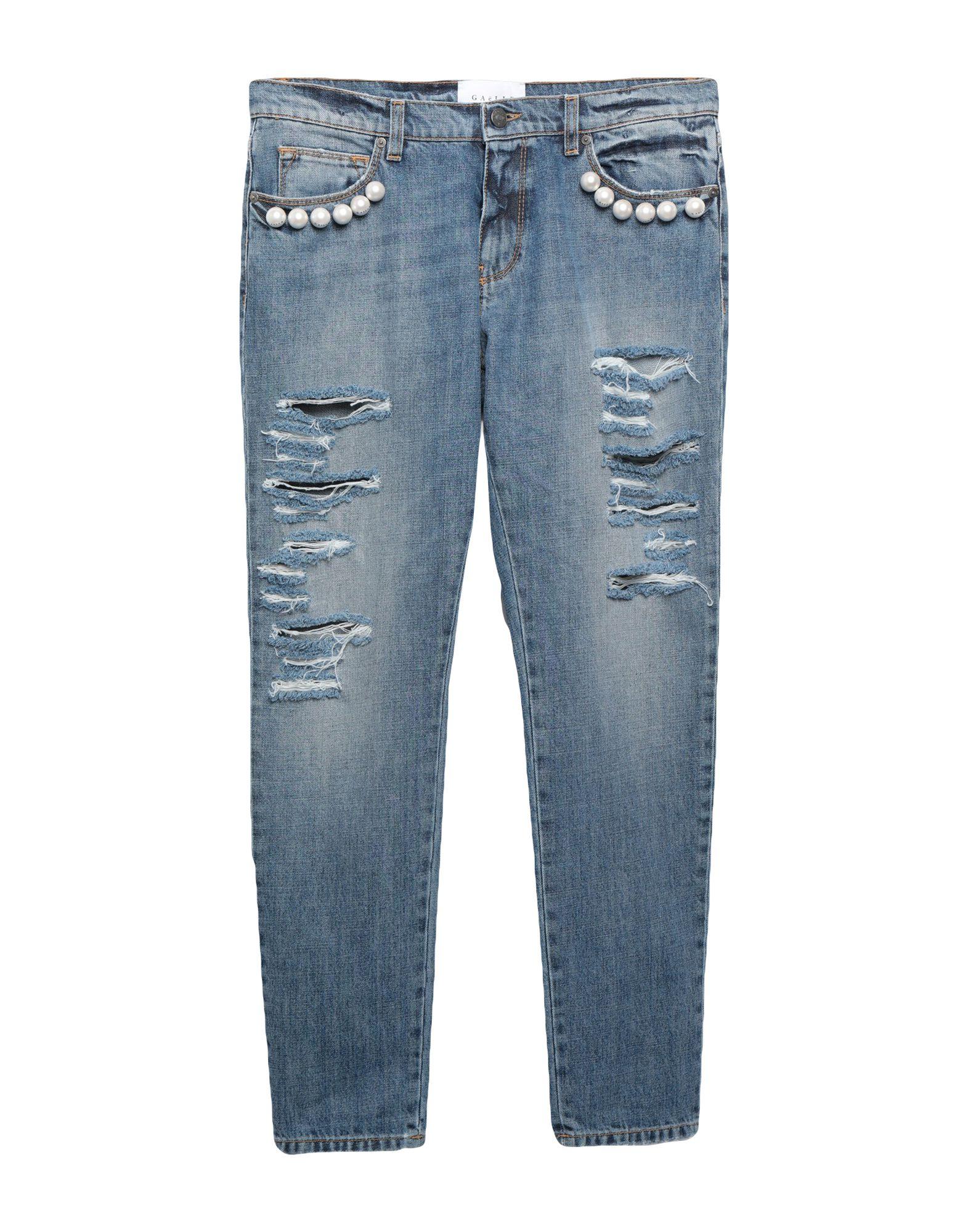 GAëLLE Paris Denim pants - Item 42754820