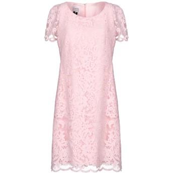 《セール開催中》EDWARD ACHOUR レディース ミニワンピース&ドレス ピンク 38 ポリエステル 82% / ナイロン 18%