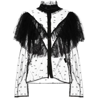 《セール開催中》DIGITAL レディース シャツ ブラック 40 ポリエステル 100%