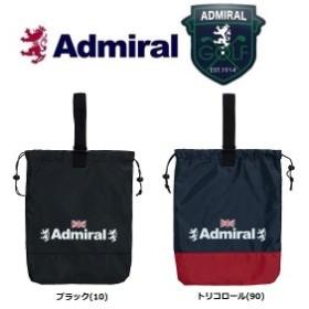 【メール便配送】 アドミラル ゴルフ Admiral Golf シューズケース 巾着 ADMZ9STG 2019年モデル