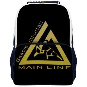 伯柔術 柔術 グレイシー 格闘技 バックパック コンピューターバッグ ランドセル 学生バッグ収納 防水 大容量 多機能ポケット 通勤 通学 出張 旅行 16インチ