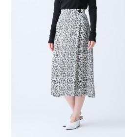 【オンワード】 JOSEPH WOMEN(ジョゼフ ウィメン) 【洗える】STILL / BLOW SILK スカート ブラック 36 レディース 【送料無料】