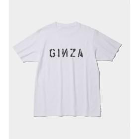 ザ・コンビニ/GINZA STENCIL TEE/ホワイト/XL