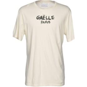 《期間限定セール開催中!》GALLE Paris メンズ T シャツ アイボリー S 100% コットン