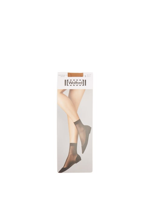 Wolford - Individual 10 Ankle Socks - Womens - Nude