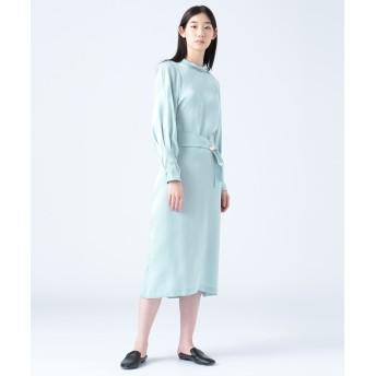 【オンワード】 JOSEPH WOMEN(ジョゼフ ウィメン) ESCAPE / 3D SILK ドレス / ワンピース サックスブルー 42 レディース 【送料無料】