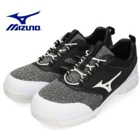 MIZUNO ミズノ 靴 90309 安全靴 オールマイティES31L F1GA190309 ワーキング 耐滑 ゴム紐 3E ブラック メンズ JSAA
