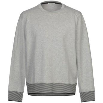 《セール開催中》PAOLO PECORA メンズ スウェットシャツ グレー L コットン 95% / ポリウレタン 5%