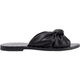 《セール開催中》LOEFFLER RANDALL レディース サンダル ブラック 6 革