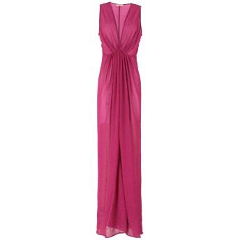 《セール開催中》MAESTA レディース ロングワンピース&ドレス フューシャ 38 ナイロン 70% / 金属繊維 30%