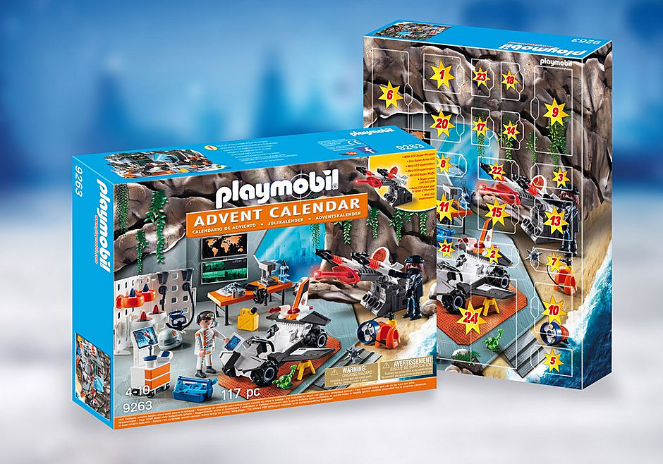 Playmobil 摩比9263 特務降臨曆