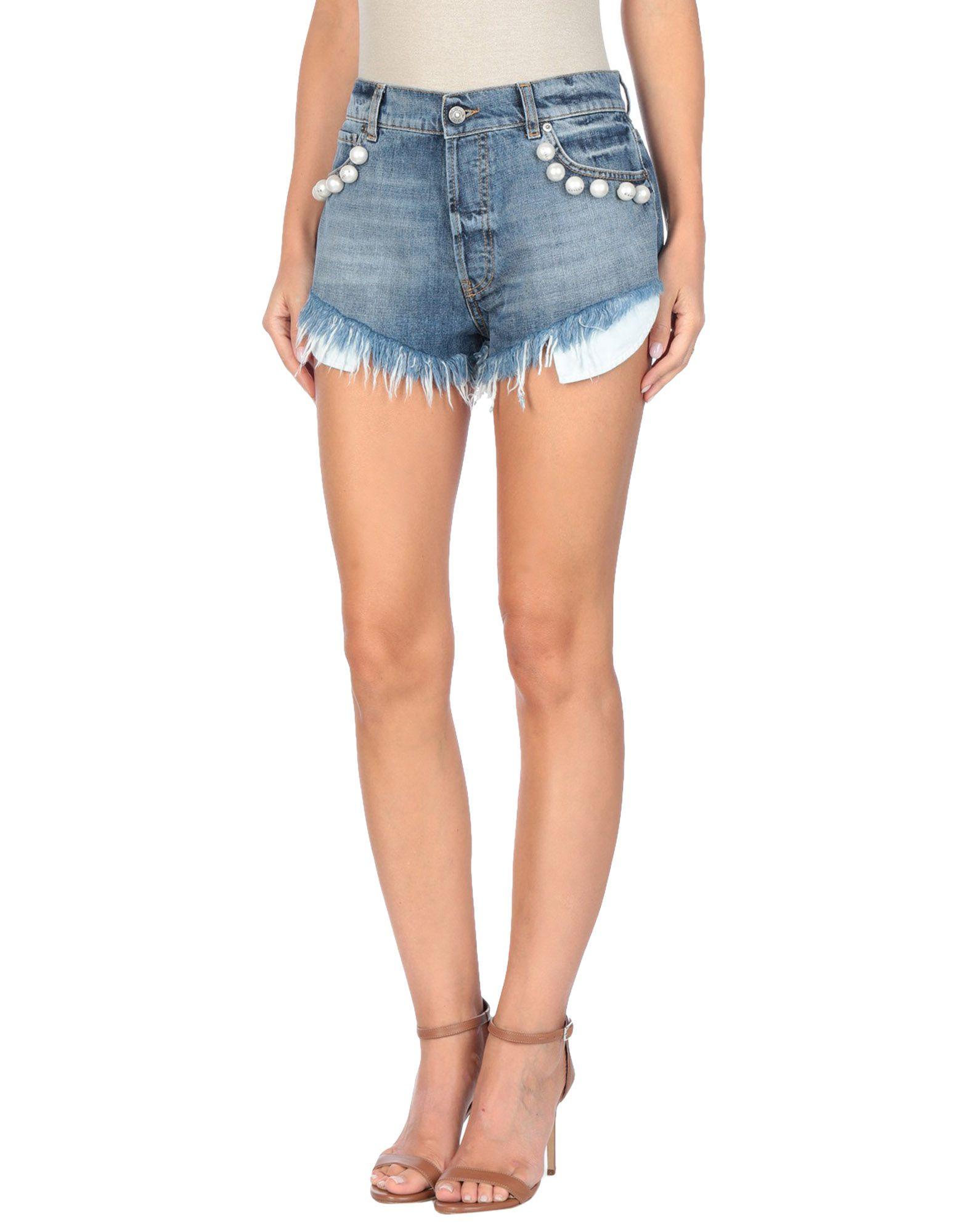 GAëLLE Paris Denim shorts - Item 42698074