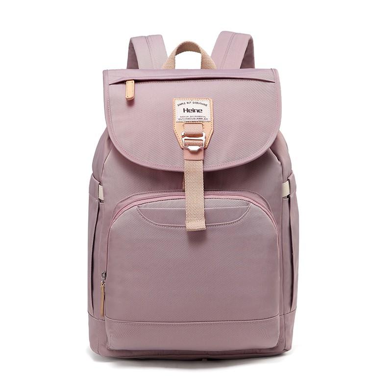 Heine 海恩 WIN-212 尼龍後背包 媽媽包 媽咪包 防盜防潑水女包 包包 束口包 流行包 旅行包 輕背包