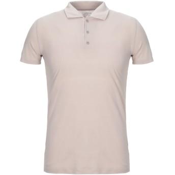 《セール開催中》MAJESTIC FILATURES メンズ ポロシャツ ベージュ M コットン 100%