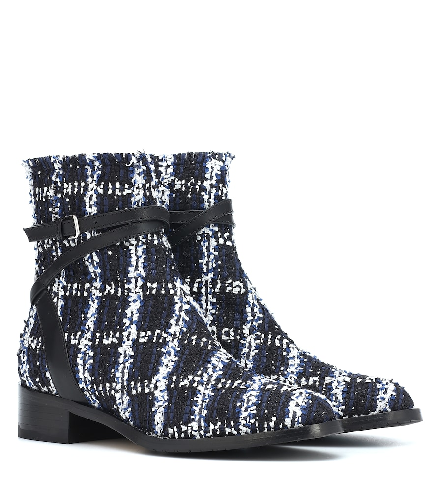 Exclusive to Mytheresa - Harris 35 tweed ankle boots