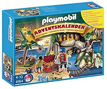 Playmobil 摩比4164 海盜降臨曆