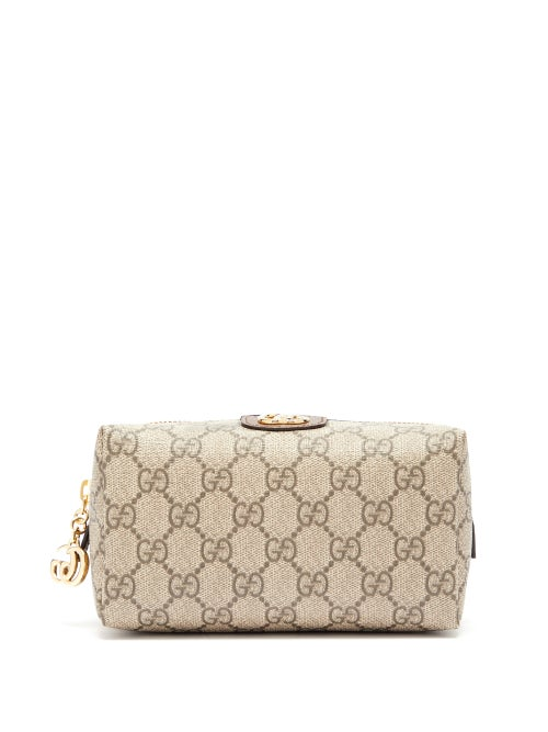Gucci - Ophidia Gg Supreme Wash Bag - Womens - Grey Multi