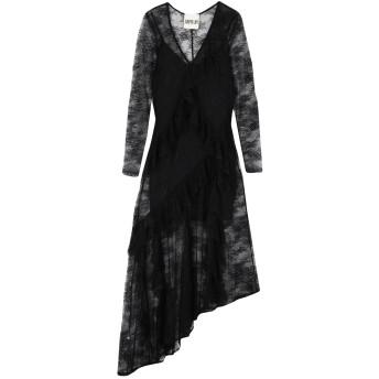 《セール開催中》ANIYE BY レディース 7分丈ワンピース・ドレス ブラック S ナイロン 100%