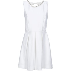 《セール開催中》LIU JO レディース ミニワンピース&ドレス ホワイト XS コットン 100%