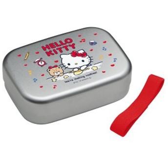 アルミ製お弁当箱/ランチボックス 【ハローキティ クッキー】 370ml 角型 お名前シール付き
