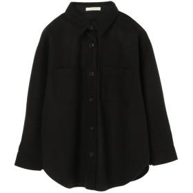 【オンワード】 Green Parks(グリーンパークス) ビッグシャツ Black F レディース 【送料無料】