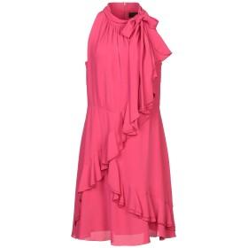 《セール開催中》KI6 WHO ARE YOU レディース ミニワンピース&ドレス フューシャ 42 アセテート 65% / シルク 35%