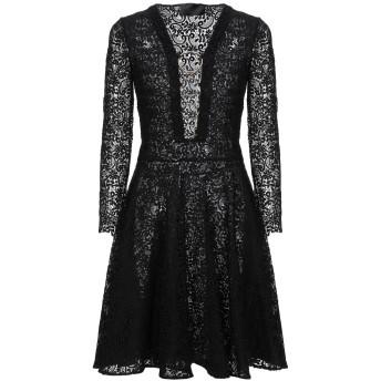《セール開催中》PHILIPP PLEIN レディース ミニワンピース&ドレス ブラック S ポリエステル 100%