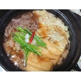 【和牛小腸100%】本格和牛もつ鍋(2~3人前) +ホホ肉+イカキムチセット