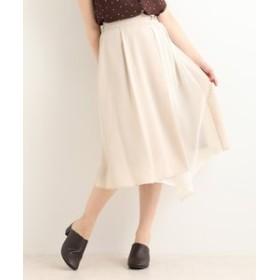 【MAJESTIC LEGON:スカート】ツートーンビットスカート