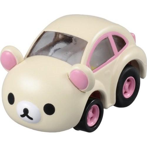【TAKARA TOMY】【阿Q車MIX】小白熊廻力車(CQ83071)