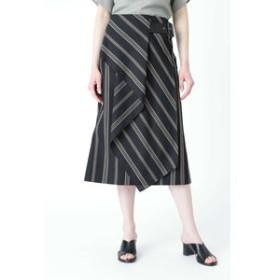 【ADORE:スカート】クールストライプスカート