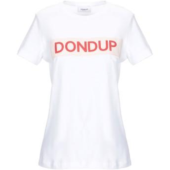 《セール開催中》DONDUP レディース T シャツ ホワイト XS コットン 100%