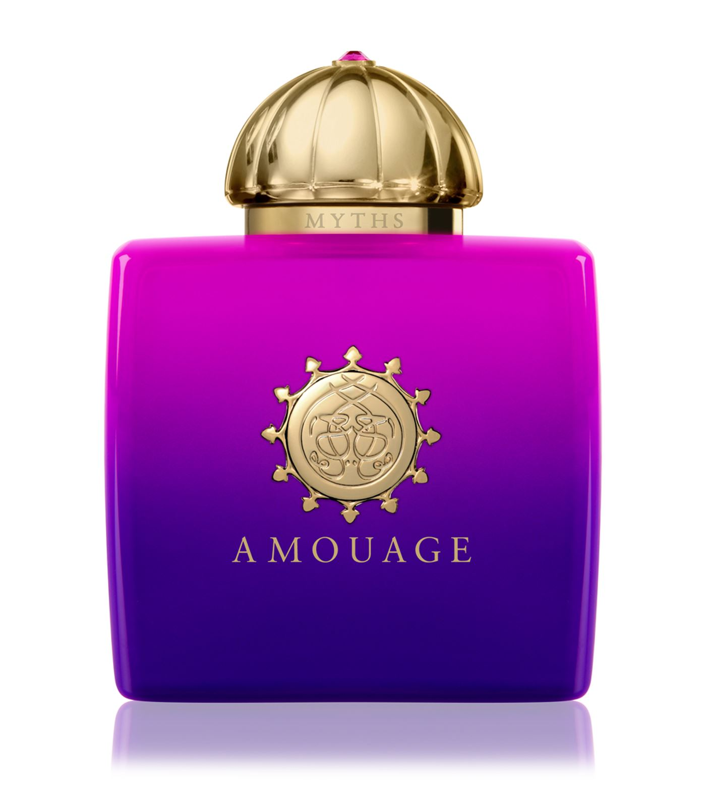Amouage - Amouage's Myths paints its floral and green facets with an expression of dark nuances shad