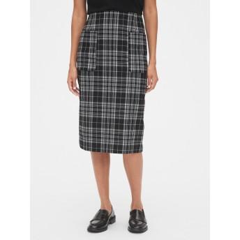 Gap パッチポケットミディスカート