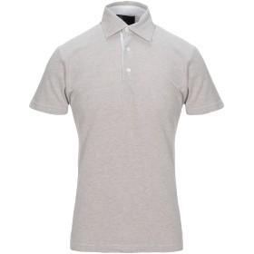 《期間限定セール開催中!》GRAN SASSO メンズ ポロシャツ ライトグレー 48 コットン 100%