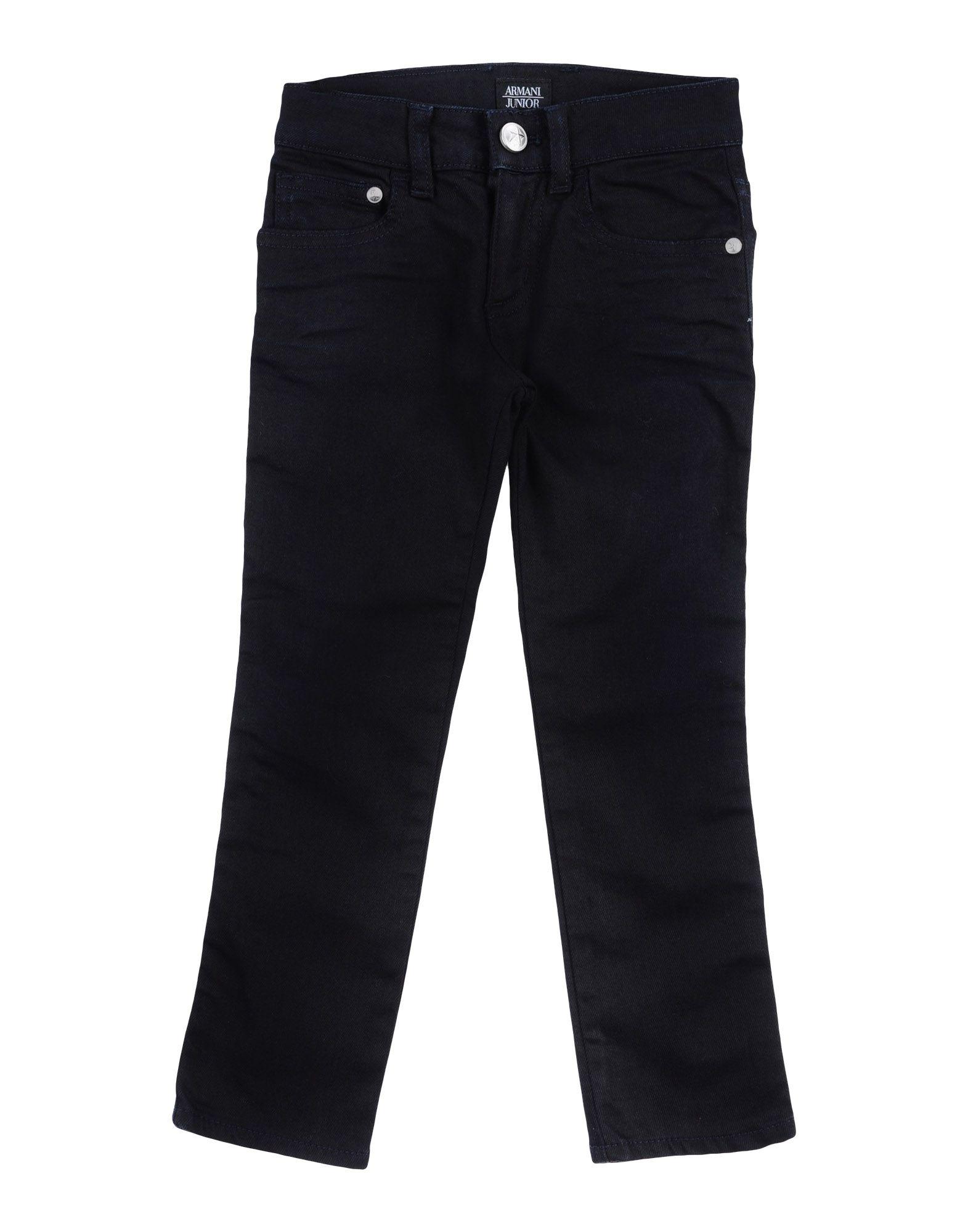 ARMANI JUNIOR Denim pants - Item 42636853