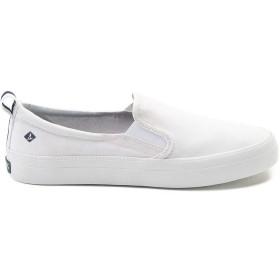 [スペリートップサイダー] 靴・シューズ レディースボートシューズ Womens Sperry Top-Sider Crest Slip On Casual Shoe - White ホワイト US 9 (26cm) [並行輸入品]