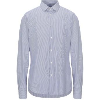 《セール開催中》LR LIBERTY ROSE メンズ シャツ ブルー L コットン 100%