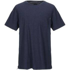 《セール開催中》SCOTCH & SODA メンズ T シャツ ダークブルー S コットン 80% / ポリエステル 10% / 麻 10%