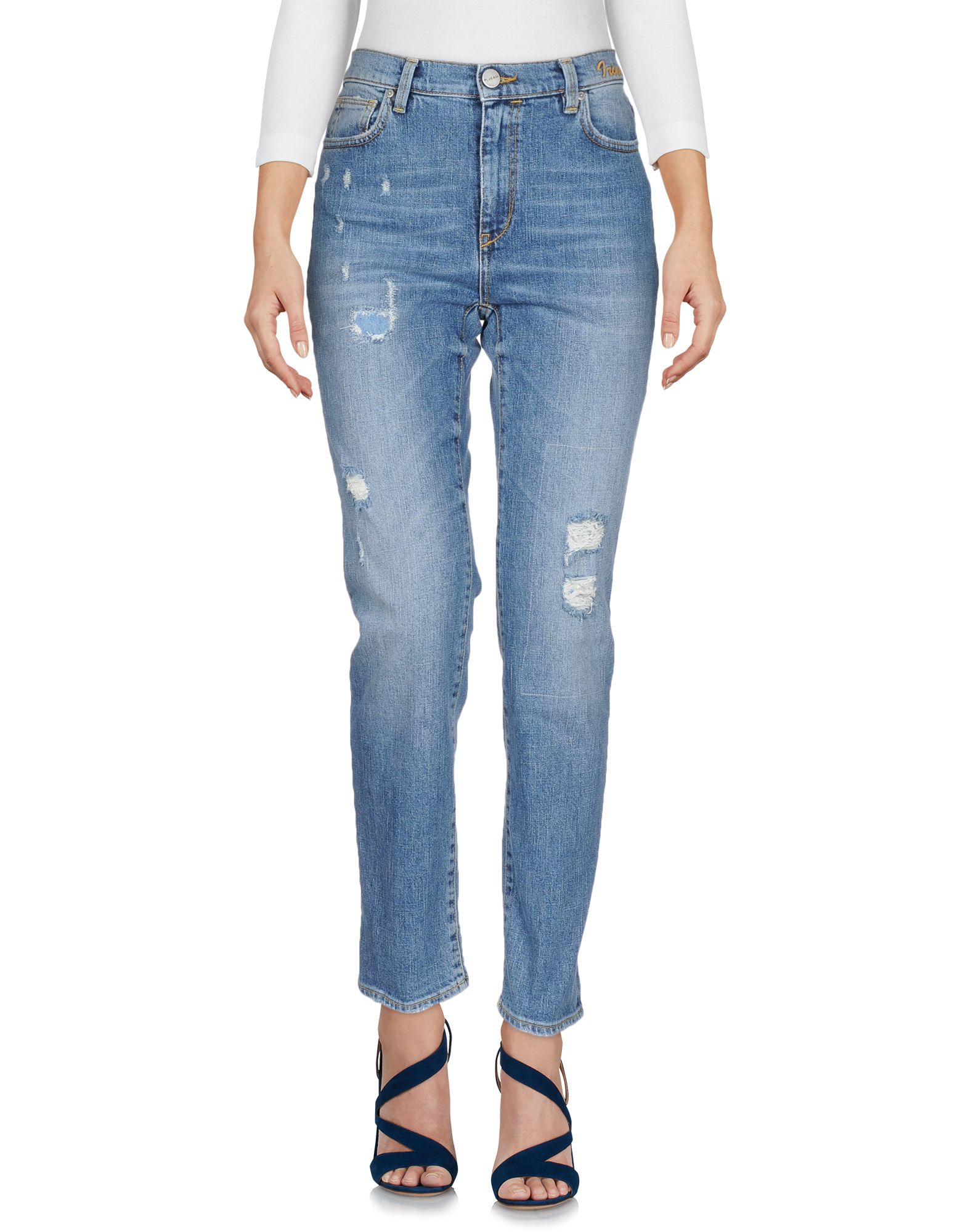 P JEAN Denim pants - Item 42669996