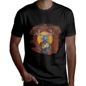 マストドンが『クラック・ザ・スカイ』 Mastodon Crack The Skye メンズ Tシャツ 半袖夏 ファッション ブラウス 人気 ラウンドネック カジュアル 個性 丸首 半袖TシャツL