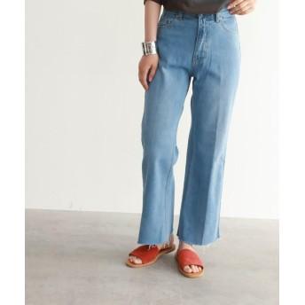 パンツ・ズボン全般 - OZOC [洗える]フレアデニムパンツ