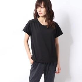 ダンスキン DANSKIN レディース フィットネス 半袖Tシャツ FLARE CREW TEE DC79306