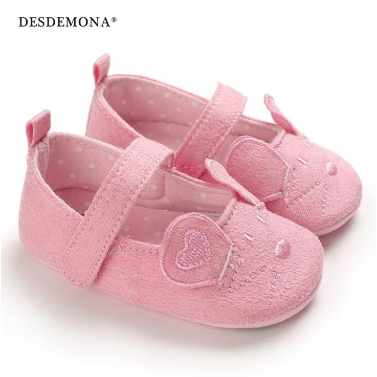 童鞋 春秋0-1歲女寶寶公主鞋軟底防滑嬰兒學步鞋 新生兒寶寶鞋 嬰兒鞋 [DM商城]