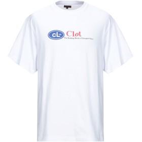 《セール開催中》CLOT メンズ T シャツ ホワイト XL コットン 100%