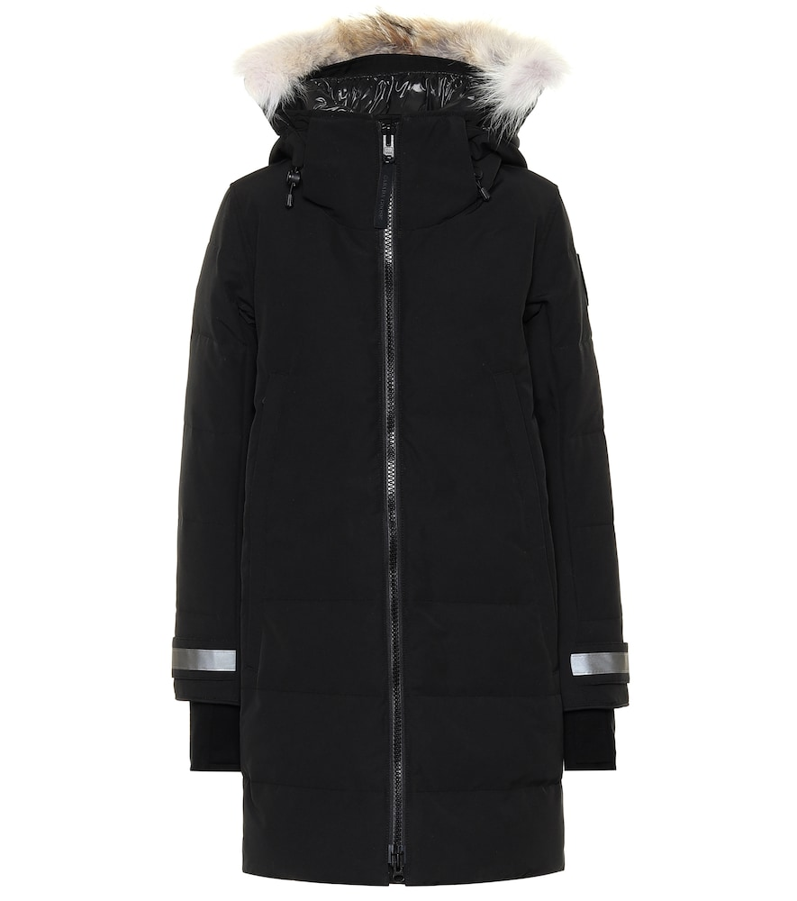 Black Label Kenton fur-trimmed parka