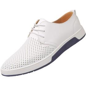 [LHWY] 革靴 メンズ ファッション 通気性 カジュアル レザーシューズ ラウンドトゥ レースアップシューズ 令和新品