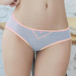 【easybody】冰咖啡女孩 低腰三角褲(粉嫩紫)